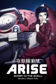 攻殻機動隊ARISE border: 1 Ghost Pain zalukaj